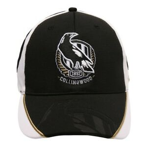 Collingwood Magpies AFL 2019 Premium PlayCorp Cap / Hat BNWT's!