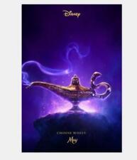 Aladdin 2019 Movie Naomi Scott Mena Massoud Wall 20x30 32x48 Poster Decor N-291