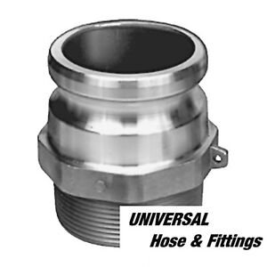 """2"""" CAMLOCK FITTING F-200 CAM LOCK , CAM AND GROOVE, TRASH PUMP FITTING"""