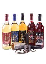 Battle Merchant Met-Probier-Paket 5 Flaschen mit Trinkhorn & Halter Honigwein