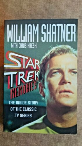 1 of 1 - Star Trek  Memories by Chris Kreski, William Shatner (Paperback, 1993)