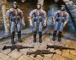 Action Force / gi Joe 3 Vipers Cobra Constructeur de l'Armée de Patrouille en Python Valor Vs Venom