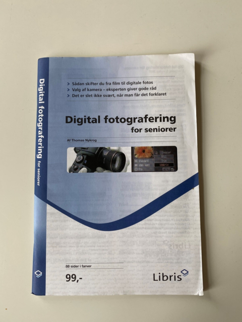 Digital fotografering for seniorer, Thomas Nykrog, emne: it…