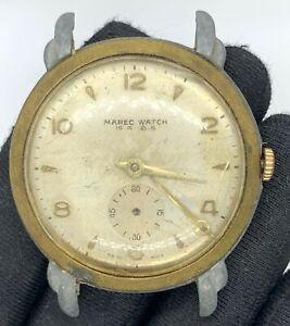 Marec-Watch-Main-Manuel-Vintage-37-2-mm-Pas-Fonctionne-pour-Pieces