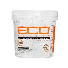 Eco Styler Professional Styling Krystal Clear Hair Gel Maximum Hold Shine 8oz