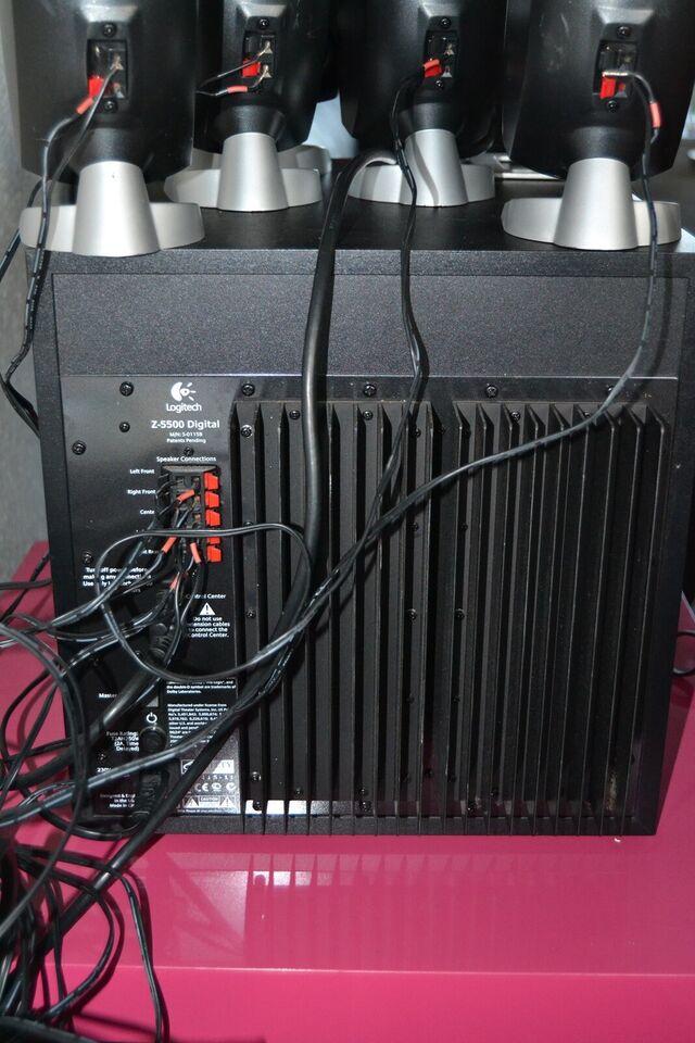 Logitech , Z-5500 , 5.1 højttalersæt