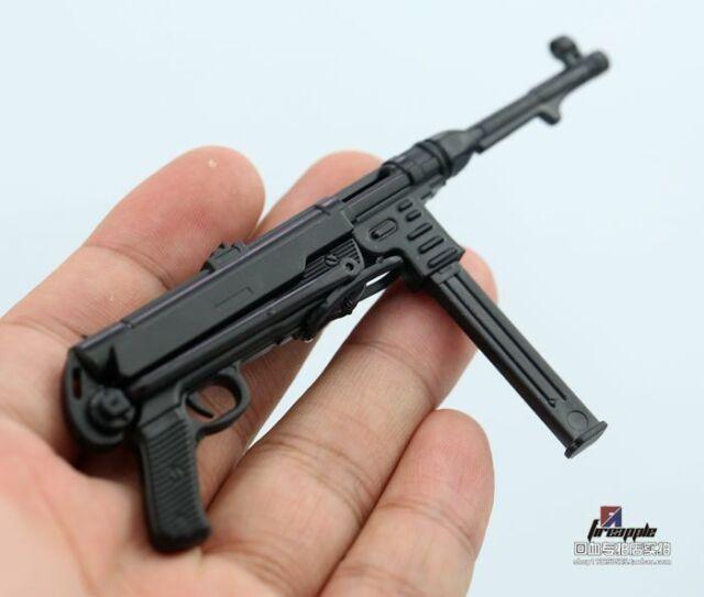 "1//6 Scale Pistol Revolver Submachine Gun Model Weapon Toy ABS Plastic F 12/"" Doll"