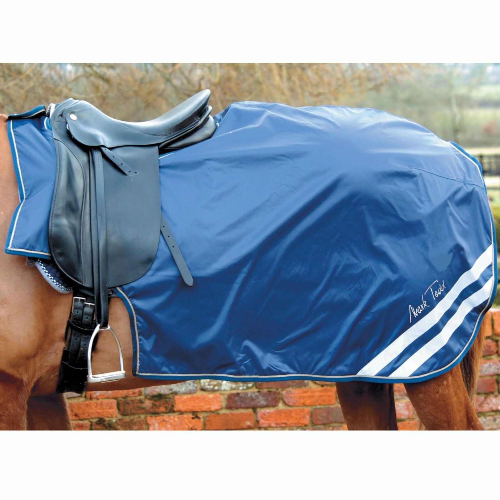 Mark Todd Waterproof Reflective Navy  Exercise Sheet  wholesale cheap and high quality