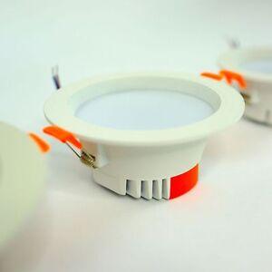 10-x-Foco-empotrado-LED-Empotrable-Luz-Techo-Foco-5w-7w-12w-20w