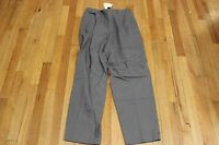 Banana Republic Dress Pants Size 10 Made In Italy Gray 3 Pockets With Tags