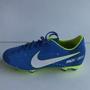 Nike-MERCURIAL-VICTORY-vi-sono-FG-JR-921488-400-Scarpe-Da-Calcio-Blu-Taglia-UK-5-5