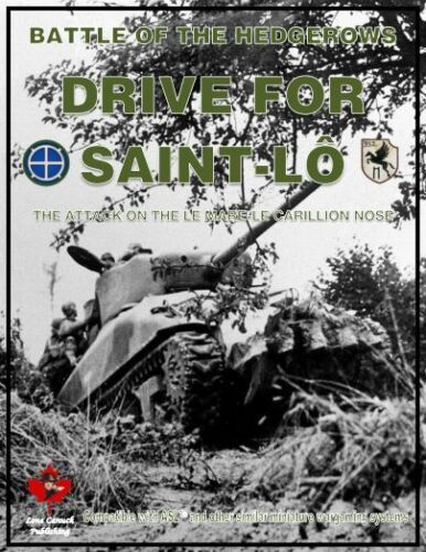 ASL Advanced Squad Leader Module Battle of the Hedgerows Drive for Saint-Lo