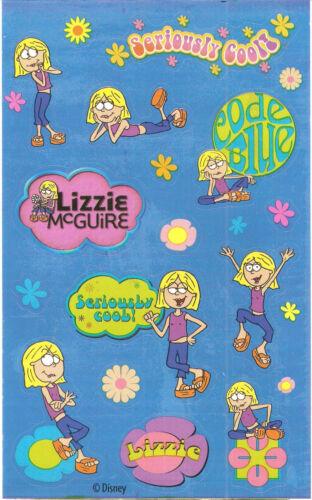 Sandylion Vintage Retro Lizzie McGuire Stickers 2 Maxi Sheets RETIRED
