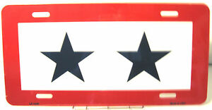 Novelty-license-plate-Patriotic-2-Blue-Star-Mother-Parent-New-Aluminum-Auto