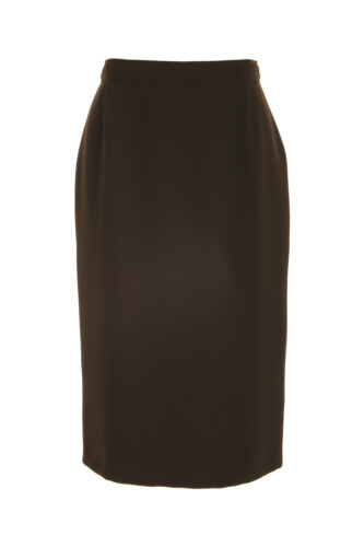 Busy Brown Pencil Skirt