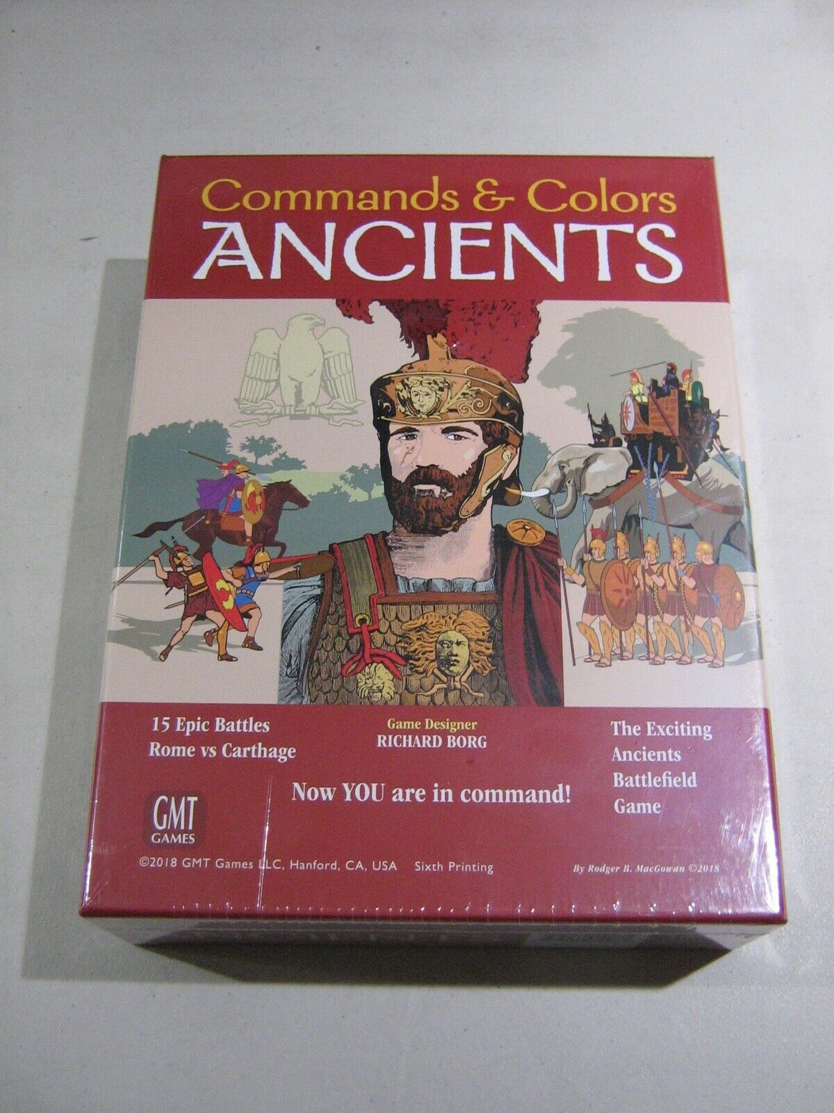 Command & Colours Ancients 6th Printing (New)