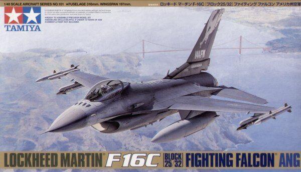 Tamiya 1 48 F - 16c Blocco 25 32 Fighting Falcon  61101