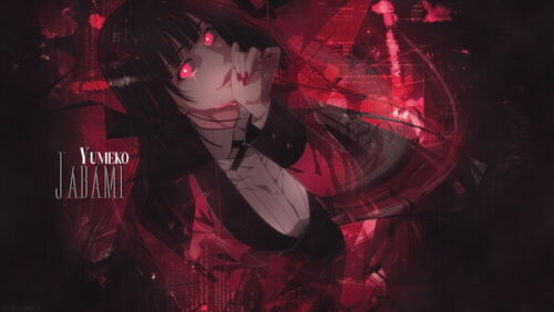 "032 Kakegurui Jabami Yumeko Japan Anime 24/""x14/"" Poster"