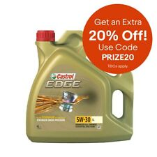 Edge Longlife Engine Oil 4 Litres 5W30 Fully Synthetic by Castrol