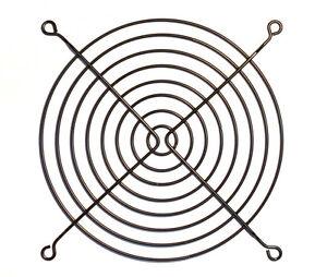 Lüftergitter schwarz 140 mm