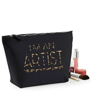 Teacher Thank You Gift Personalised Women/'s Make Up Accessory Bag Leopard Print