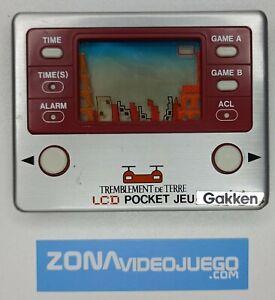 Juego electronico LCD, Towering Rescue, Gakken. MAL FUNCIONAMIENTO