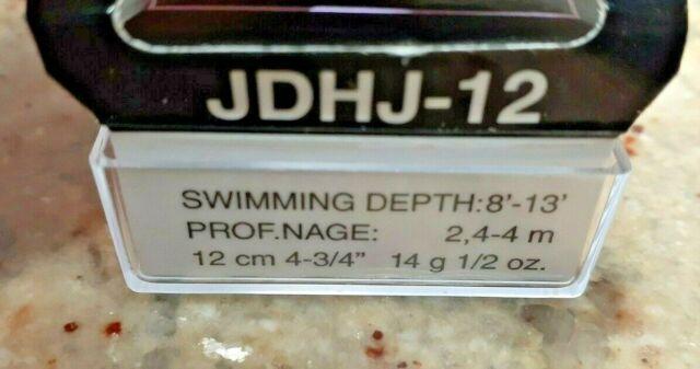 Rapala Jointed Deep Rattling Suspending Husky Jerk Jdhj12 HT Lure Freshwater for sale online