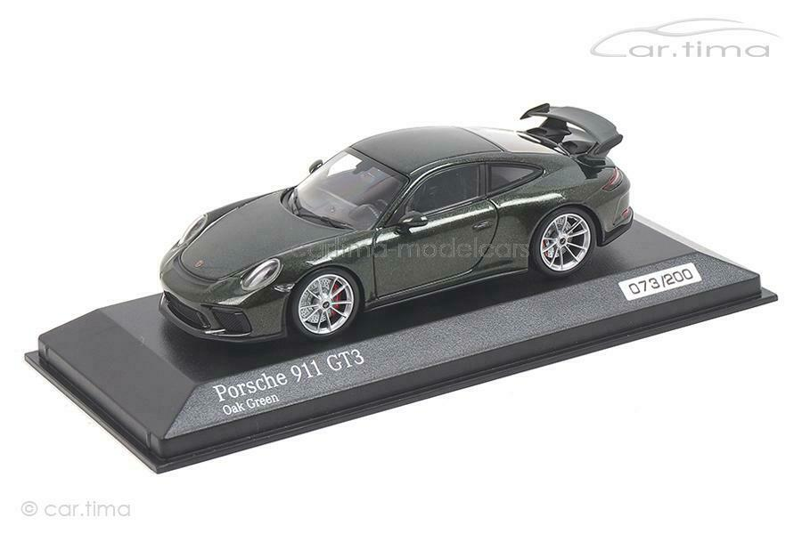Porsche 911 (991 II) gt3-oakvert-MINICHAMPS-CAR. Tima Exclusive 1 43 - ca04
