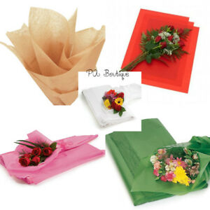 Floral waxed tissue paper bouquet wrapping 24x36 x large sheets image is loading floral waxed tissue paper bouquet wrapping 24 034 mightylinksfo