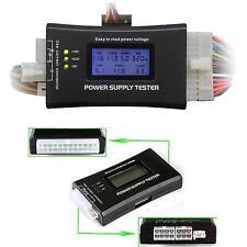 Digital LCD PC Computer Power Supply Tester 20/24 Pin 4 PSU ATX SATA HDD MT