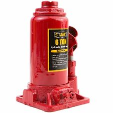 New 6 Ton Hydraulic Bottle Jack 12000lb Lift HEAVY DUTY Automotive Car Compact