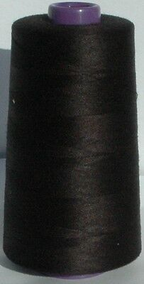 OVERLOCKER SEWING MACHINE THREAD Polyester 5000mtr x 4 REELS Top Quality 120s