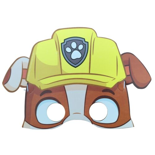 6x Childrens Pokemon Patrolling Dog Hats/&Mask Dressing up Party Bag Theme Party