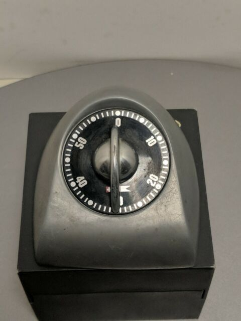 Bengt Ek Design 620ABP Classic Timer Aluminium