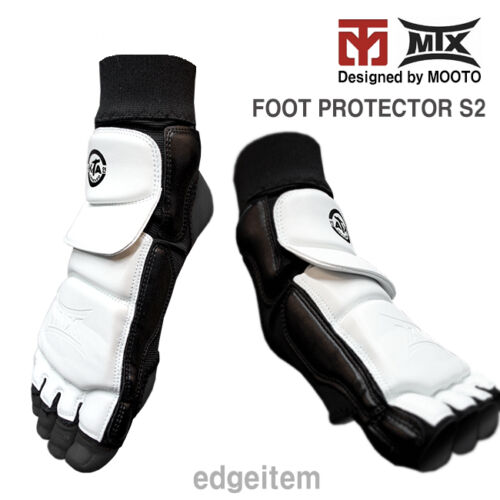 MOOTO MTX Foot Protector S2 Brand New Taekwondo Guards KTA CE WTF Approved