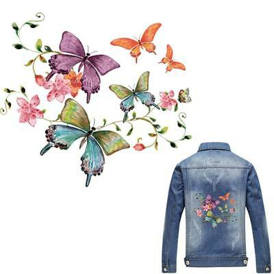 Iron On Appliques Butterfly Patch T-shirt A-level Washing Heat Transfer Sticker