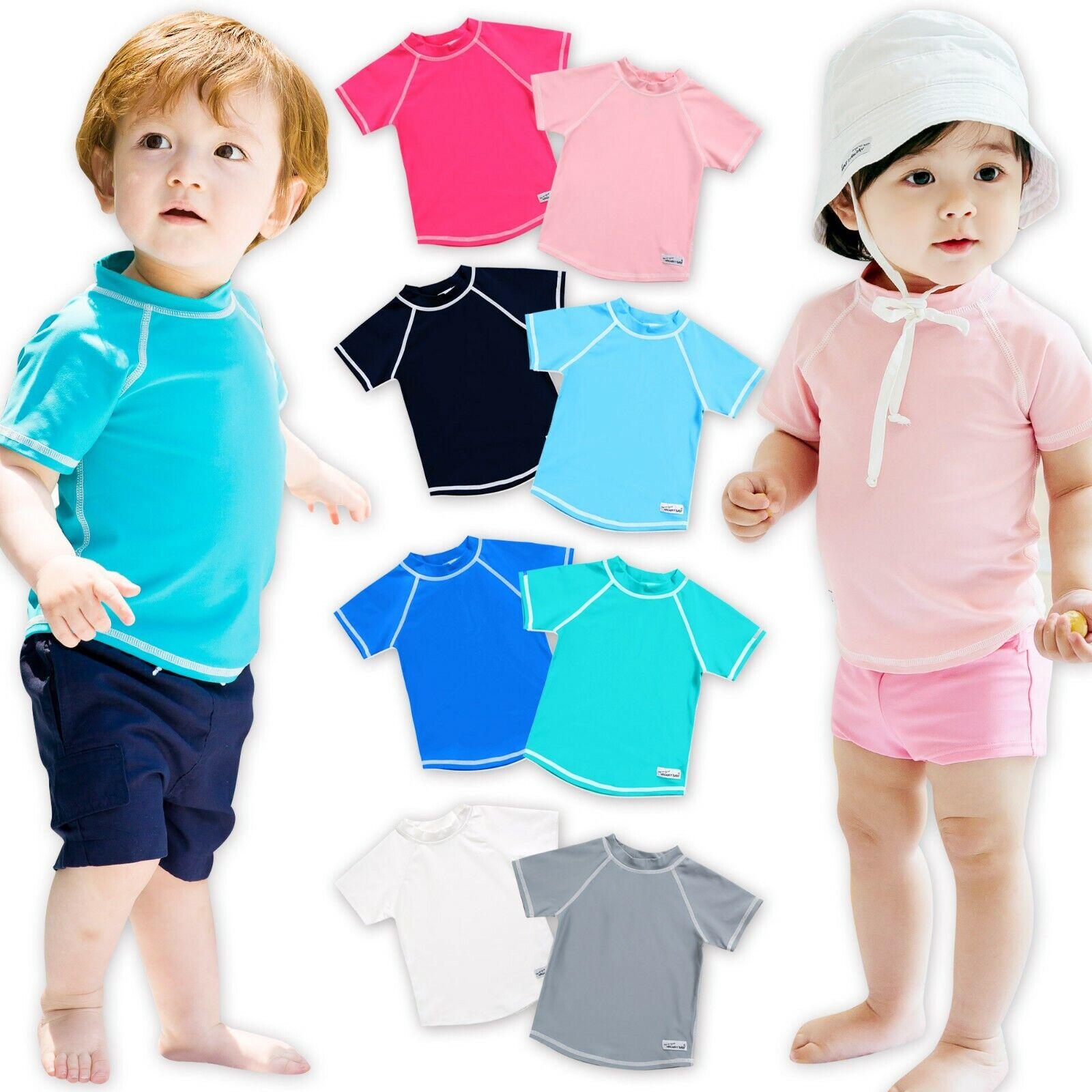 "Vaenait baby Infant Kids Boy Short Sleeve UPF 50 Rashguard /""Oasis Shirt/"" 6M-3T"