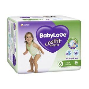 Babylove Unisex Cosifit Junior Nappy 15-25 Kg Size 6 26 pack