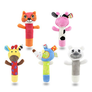 Rattle-Animal-Stick-Soft-Hand-Bell-Baby-Hand-Grip-Rod-Toys-Educational-Doll