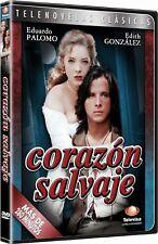 Telenovela CORAZÓN SALVAJE Eduardo Palomo Edith González DVD