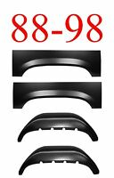 88 98 4pc Inner & Outer Rear Wheel Arch Set Left & Right, Chevy & Gmc Truck