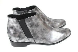 Zanotti Bottines argent 40 Design Uk en 7 Giuseppe plates 7wqxP74