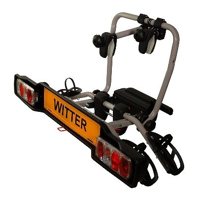 Witter ZX302 Cycle Carrier Clamp-On Towball Mounted 2 Bike Cycle Carrier