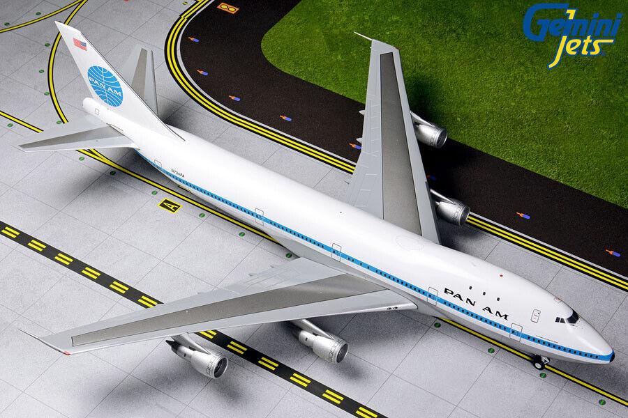 Gemini Jets échelle 1 200 pan am boeing 747-100 N734PA G2PAA790