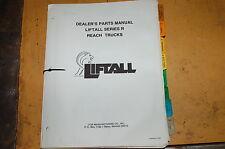 Gradall R Series Telescopic Forklift Reach Truck Parts Manual Book Catalog List