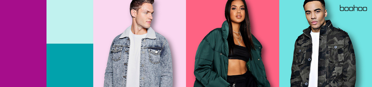 Shop event 20% off Coats & Jackets from boohoo Enter code JACKET20 at checkout.