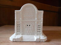 C-0677 Christmas Village Police Station Ceramic Bisque U Paint