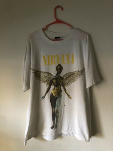 Original NIRVANA In Utero t-shirt Vintage 1993 Bro