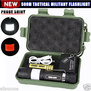 G700-6000LM-Tactical-Zoomable-X800-XML-T6-LED-Military-Flashlight-Torch-Lamp-UK