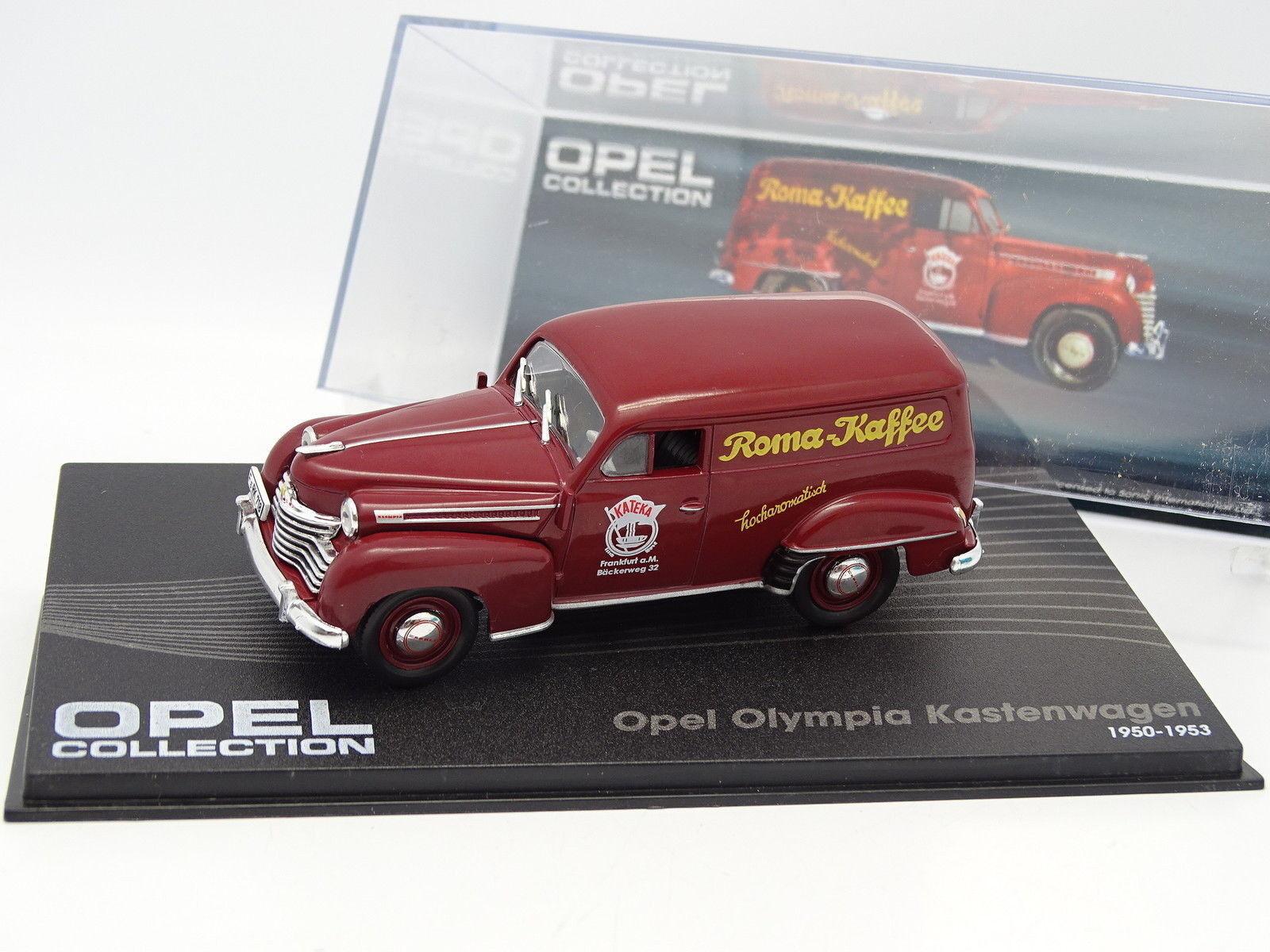 Ixo Prensa 1 43 - Opel Olympia Kastenwagen 1950 Roma Café